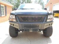 CHEVY AVALANCHE/SUBURBAN/TAHOE STEALTH FRONT BUMPER WITH INTEGRATED GRILLE - Image 3