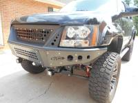 CHEVY AVALANCHE/SUBURBAN/TAHOE STEALTH FRONT BUMPER WITH INTEGRATED GRILLE