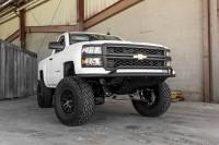 CHEVY SILVERADO ADD LITE FRONT BUMPER WITH TOP HOOP