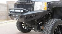 Armor - FRONT BUMPERS - CHEVY 2500/3500 HONEYBADGER FRONT BUMPER WITH WINCH MOUNT