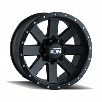Wheels & Tires - Wheels - ION ALLOY MATTE BLACK/BLACK BEADLOCK 20X9 RIM