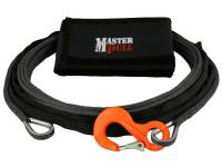 "Trail Gear - Kinetic Tow Ropes & Recovery Kits - 1/4"" CLASSIC WINCH EXTENSION WITH G100 COBRA SLING HOOK"