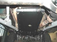 LONG ARM ENGINE/TRANSMISSION SKID PLATE