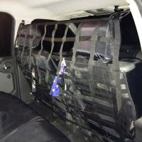 Racks, Hitches & Cargo Accessories - Raingler Cargo Nets - Xterra Behind Front Seat Barrier Divider