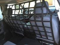 Racks, Hitches & Cargo Accessories - Raingler Cargo Nets - Frontier Behind Front Seat Barrier Divider