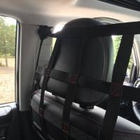 Frontier Behind Front Seat Barrier Divider