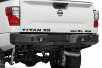 Rear Bumpers - Titan - TITAN XD STEALTH FIGHTER REAR BUMPER W/ SENSORS